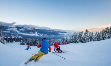 Settimana bianca, yoga e relax nelle magnifiche Dolomiti innevate