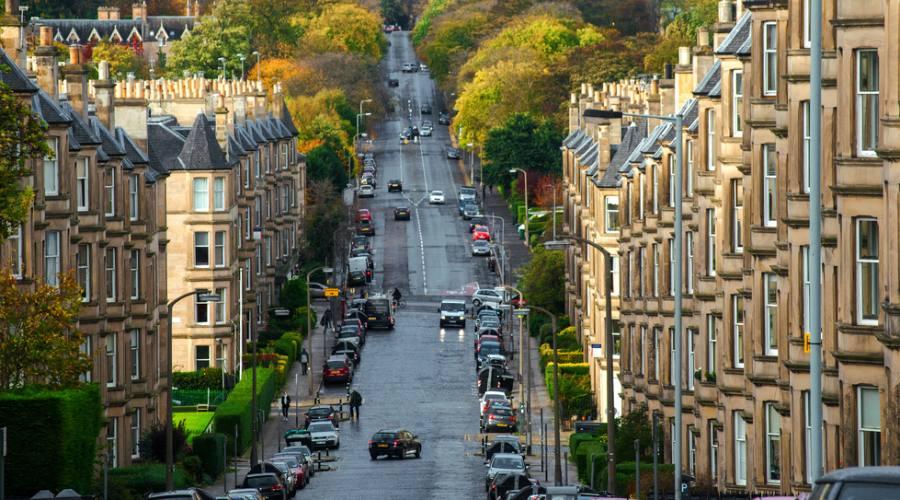 Edimburgo vista città