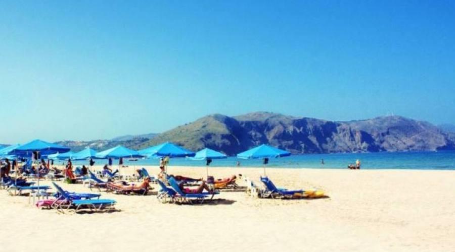 una spiaggia di Creta
