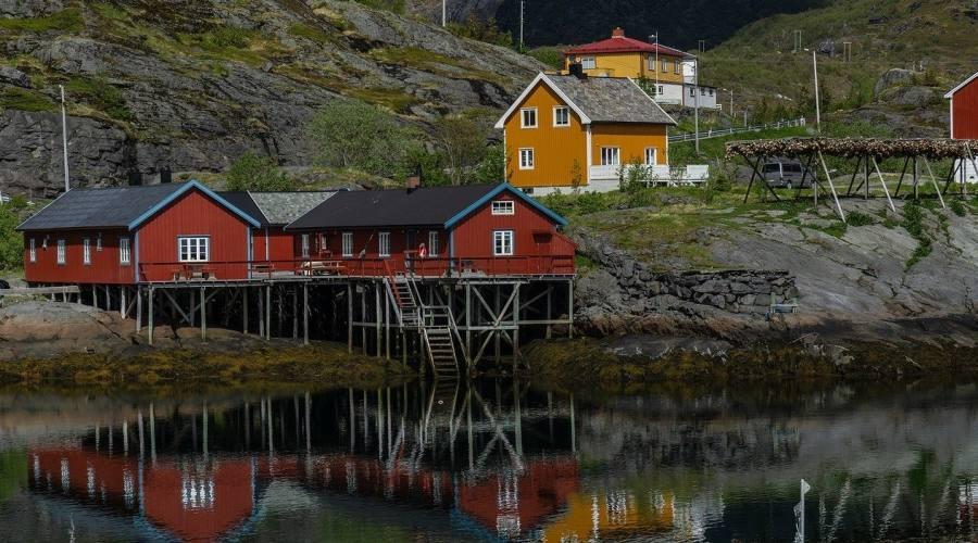 Isole Lofoten paesaggi