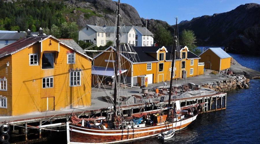 Porto alle Isole Lofoten