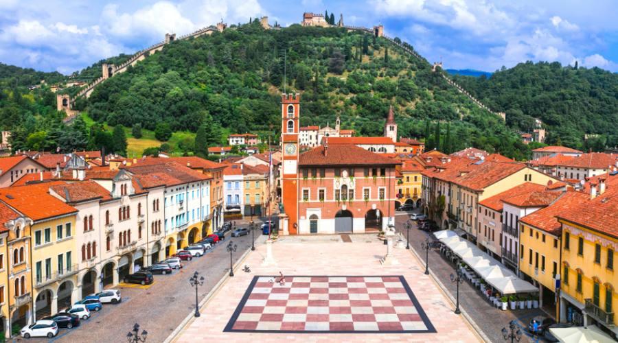 La piazza degli Scacchi di Marostica