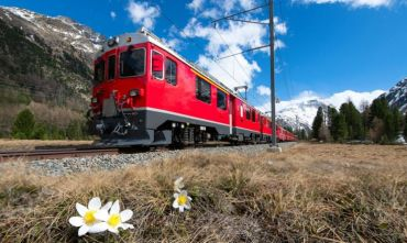 Pasqua o Ponte del 1° Maggio con il Trenino Rosso del Bernina