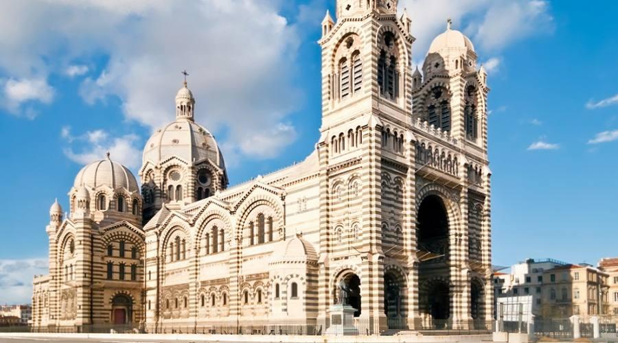 Cathedral de la Major - una delle chiese principali a Marsiglia