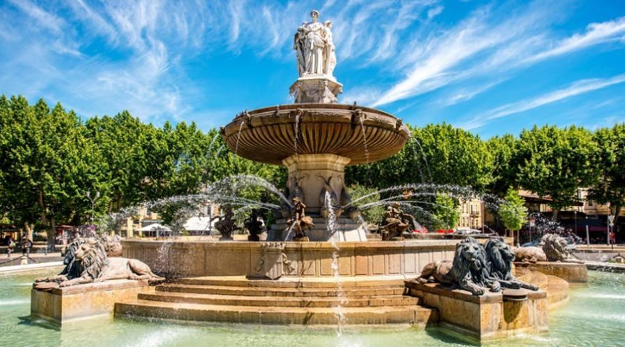 Fontaine de la Rotonde - Aix-en-Provence