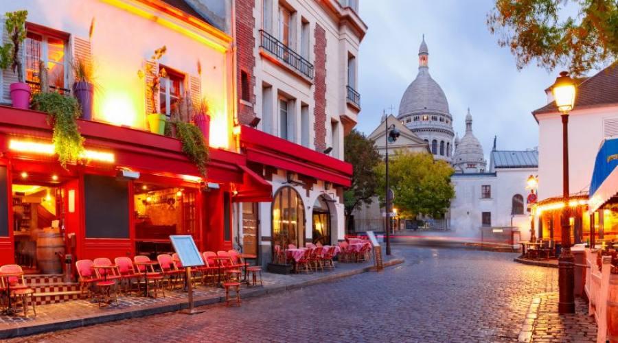 Il quartiere di Montmartre a Parigi