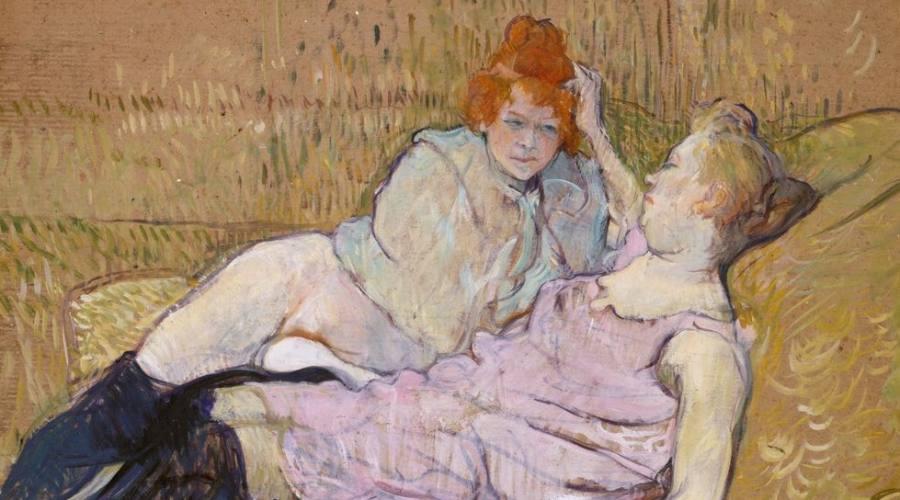 Quadro di Toulouse Lautrec