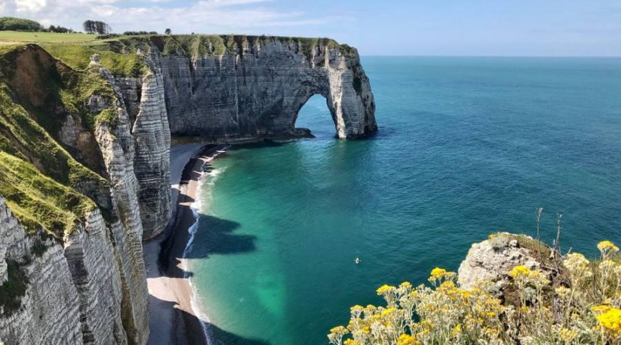 Normandia le scogliere di Etretet