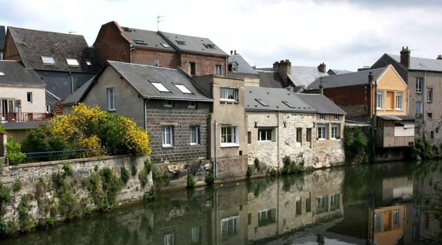 Normandia le case di Le Havre