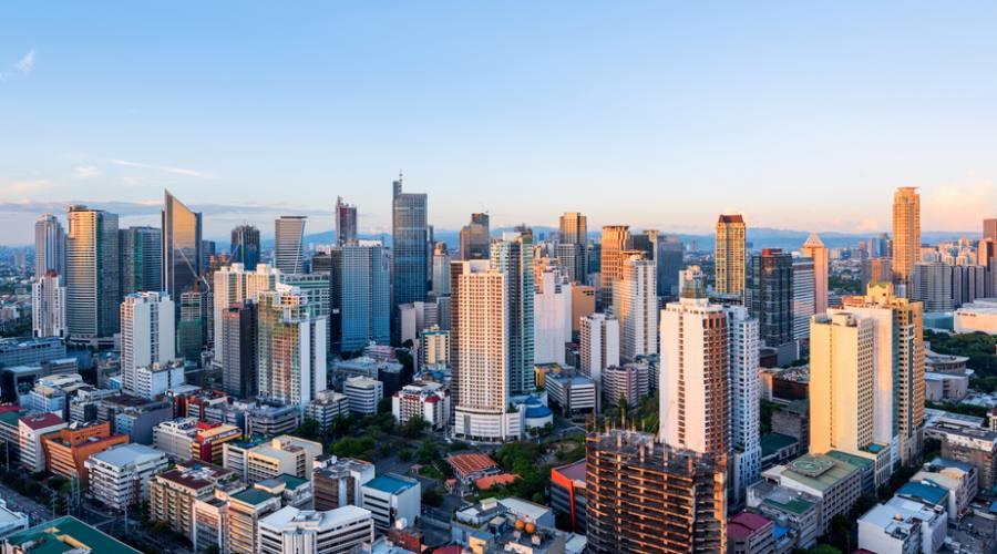 Makati, il quartiere degli affari di Manila