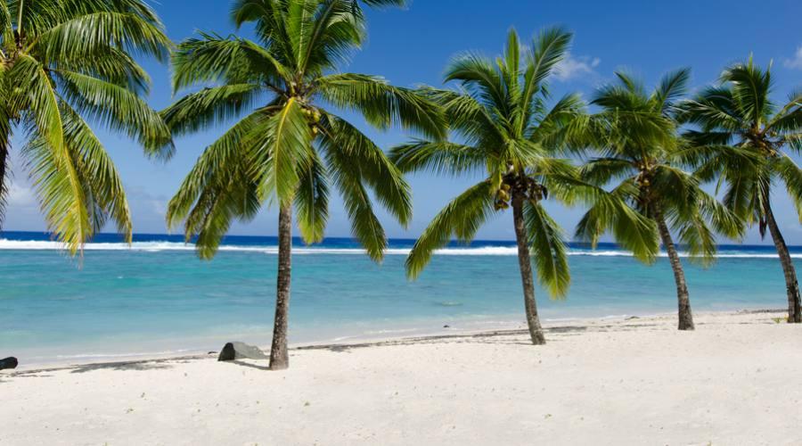 Spaiggia a Rarotonga