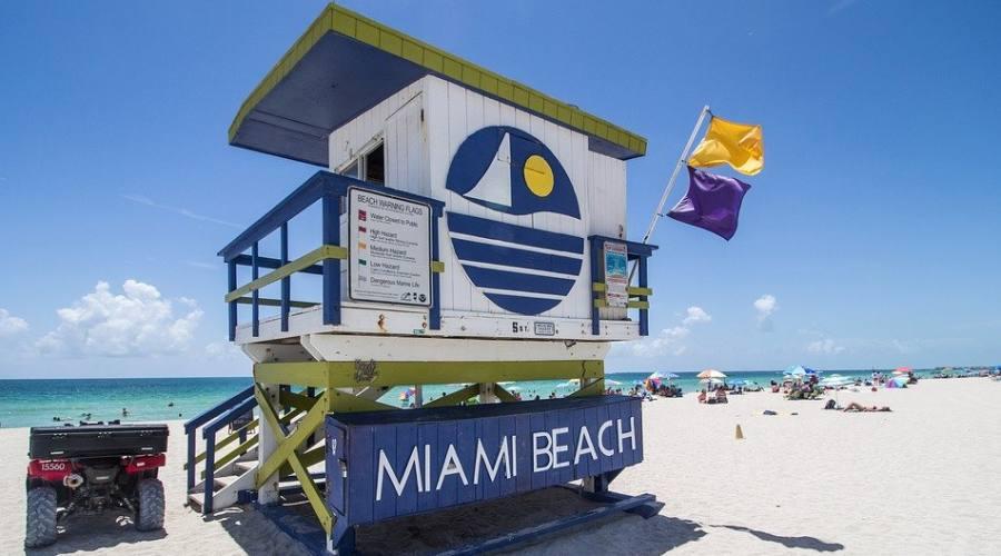 La spiaggia di Miami