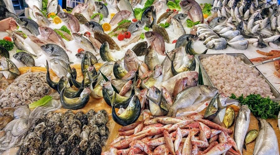 Il pescato a Marzamemi