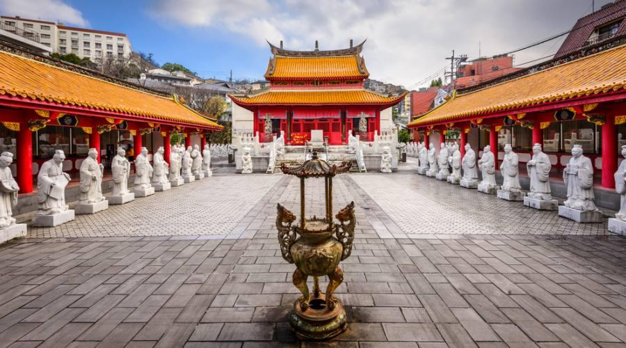 Il Tempio di Confucio a Nagasaki