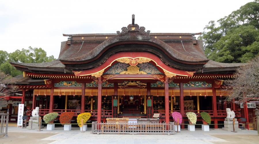 Tempio nel Kyushu