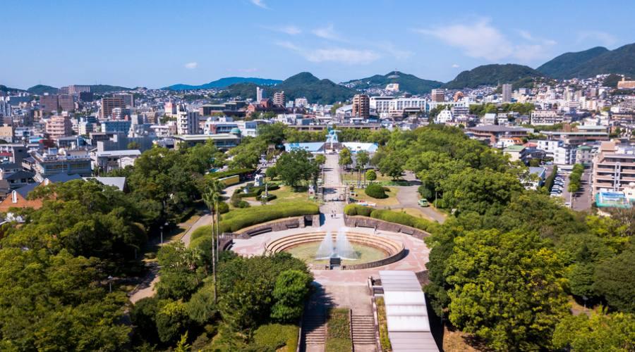 Il Parco della Pace di Nagasaki Peace park