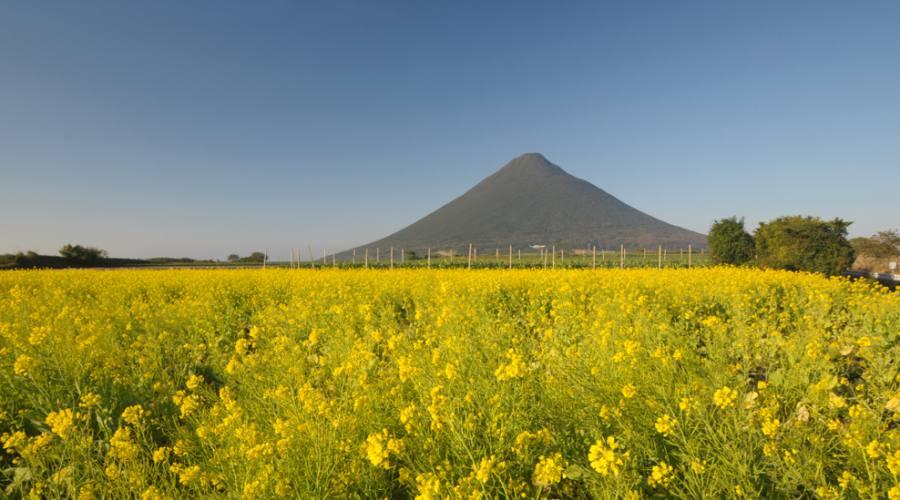 Il vulcano Kaimondake a Kagoshima