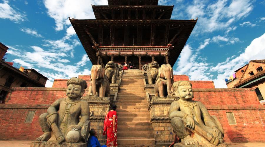 Tempio a Kathmandù
