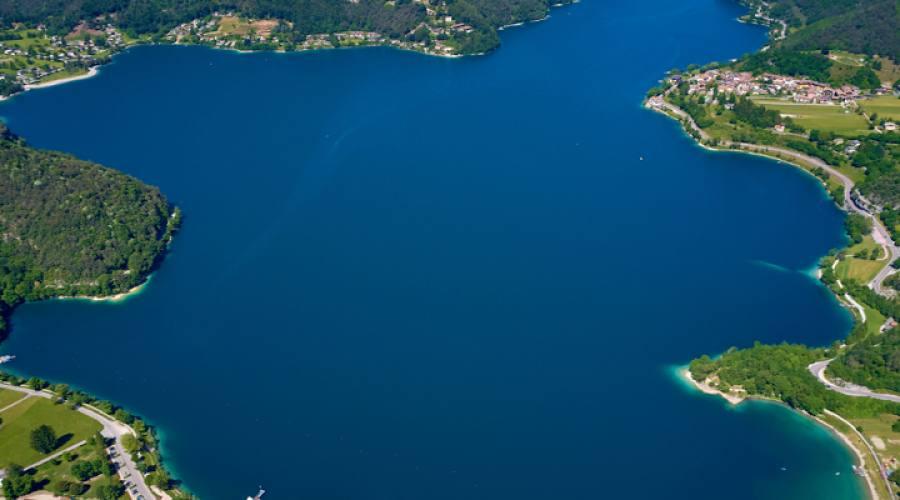 Lago di Ledro Veduta aerea