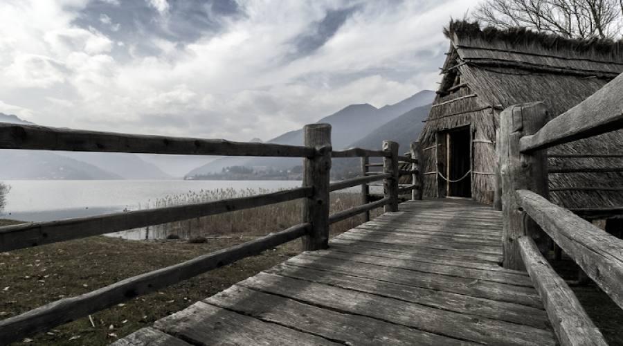 Lago di Ledro Villaggio Palafitte dell'età del bronzo