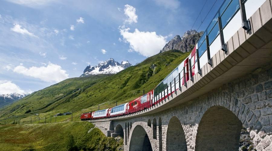 Treno panoramico Glacier Express