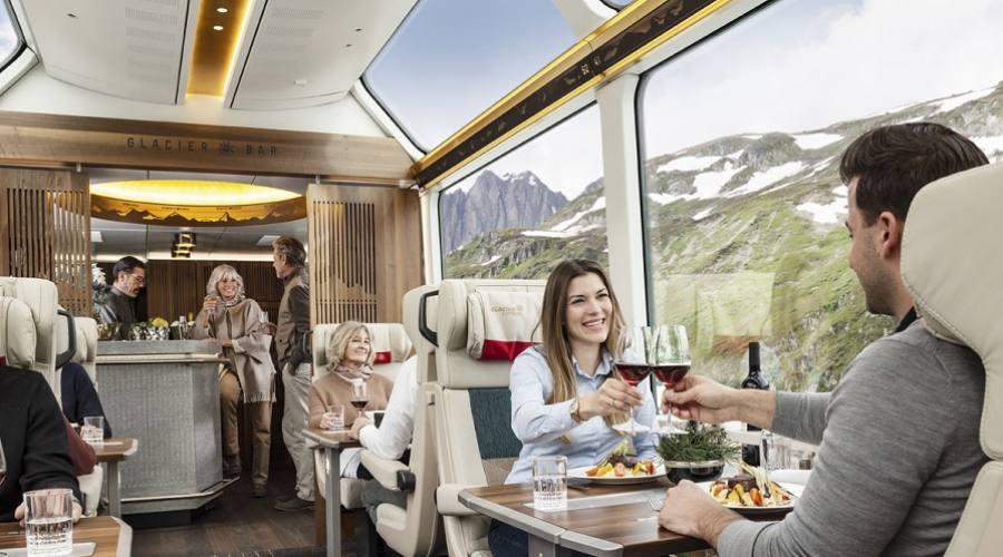 Glacier Express - interni