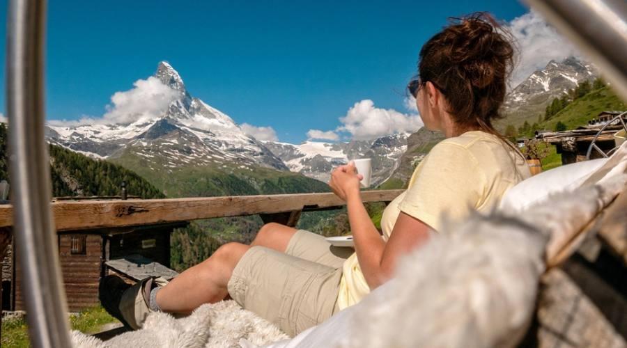 Vista panoramica Zermatt