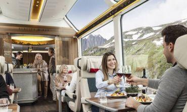 Glacier Express e Trenino Rosso del Bernina in un unico viaggio