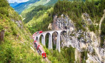 Viaggio di gruppo: Lago di Como e Trenino Rosso del Bernina