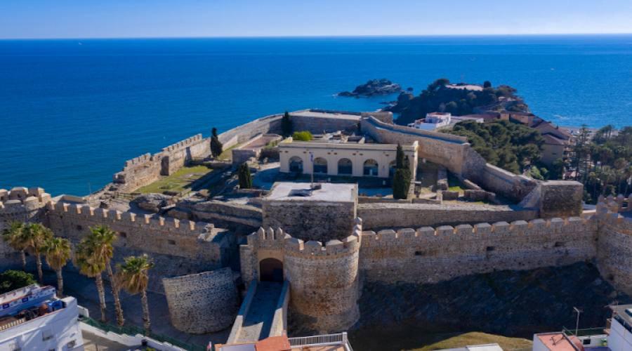 Almunecar Veduta aerea del castello