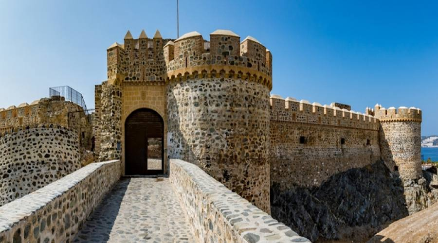 Almunecar castello ingresso