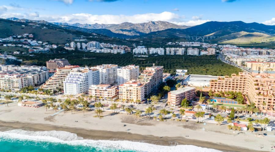 Almunecar Spiaggia di San Cristobal