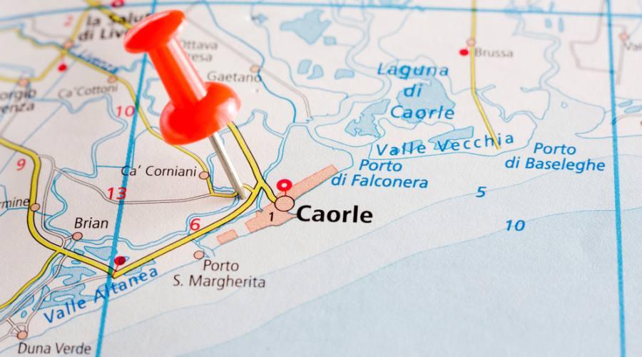 Mappa Caorle