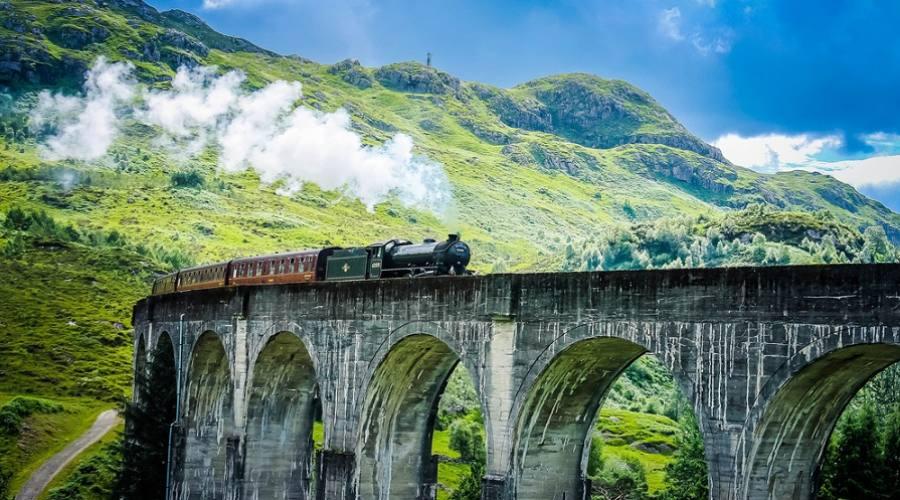 Treno a vapore Jacobite