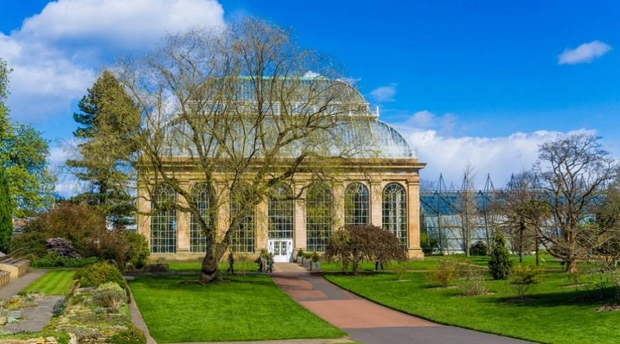 Glasshouse al Royal Botanical Gardens - Edimburgo, Scozia