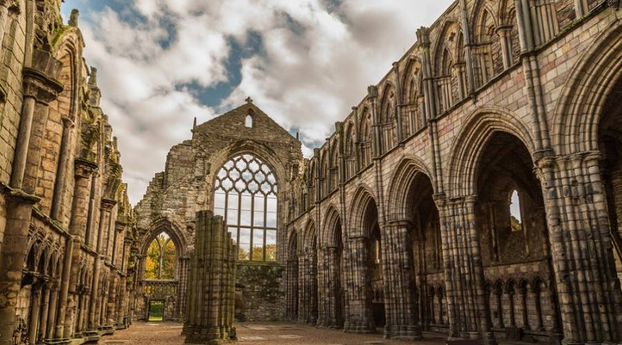Holyrood Abbey - Edimburgo