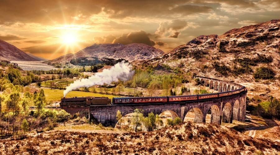 Viadotto Glenfinnan - Treno a Vapore Jacobite