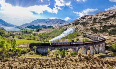 Magnifico tour scozzese a bordo del treno di Harry Potter