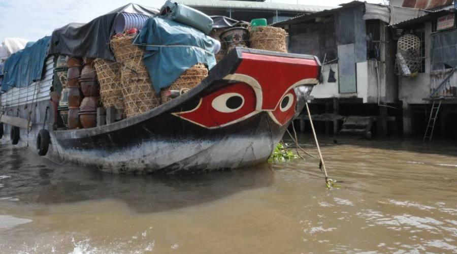 il mercato galleggiante