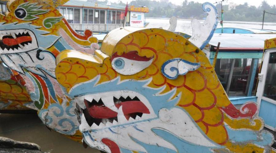 barca decorata
