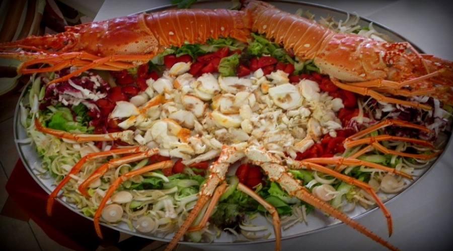 piatto di aragosta