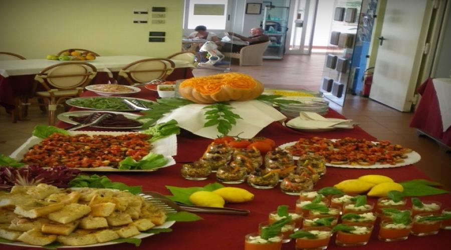 buffet antipasti