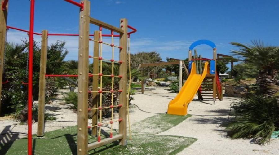 Area esterna gioco bambini