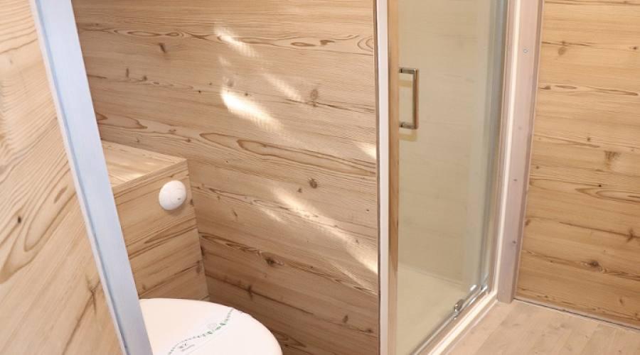 Glamping bagno