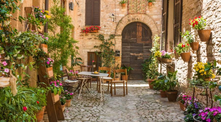 Romantico scorcio, Umbria