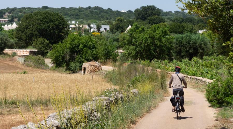 In bici sui sentieri pugliesi