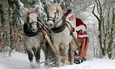 Evasione d'inverno nel paese di Babbo Natale