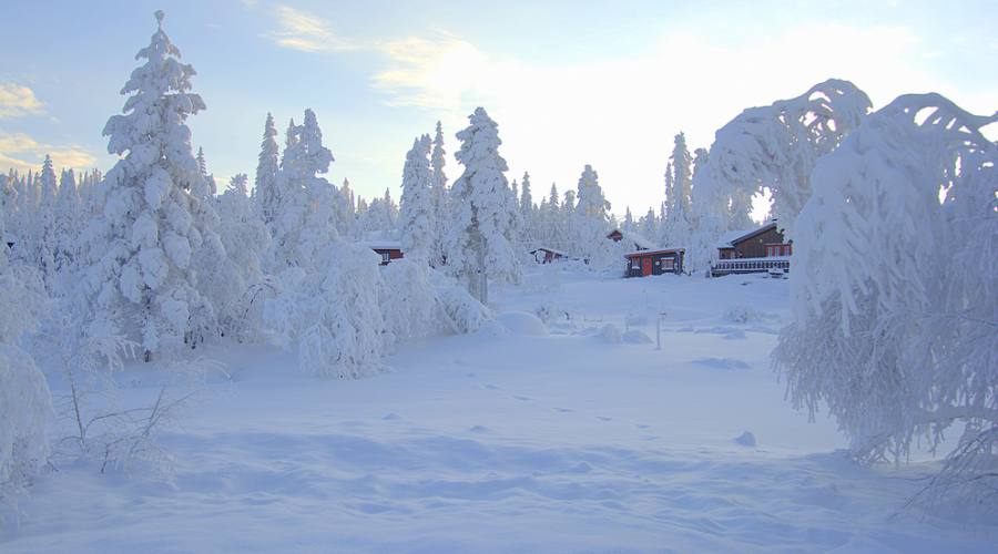 Inverno in Norvegia