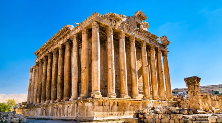 Tempio di Bacco Baalbek Libano