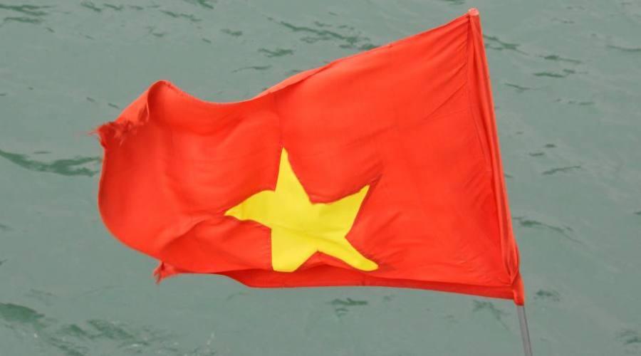 - la bandiera del Vietnam